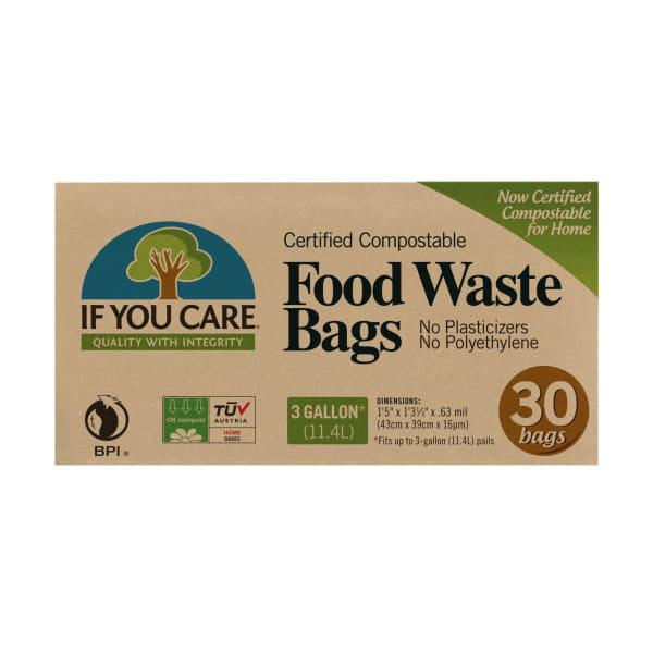 If you care compostable food waste bags, 11 litre