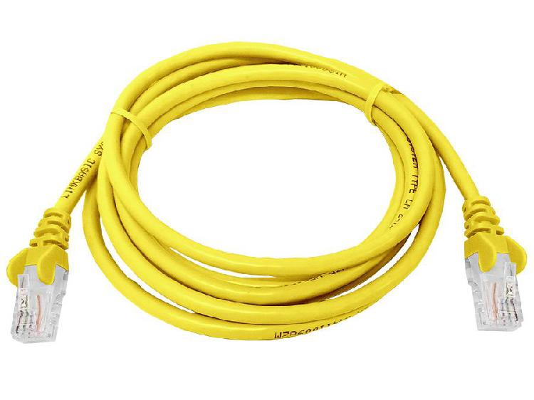 Linkbasic 2 meter utp cat5e patch cable yellow