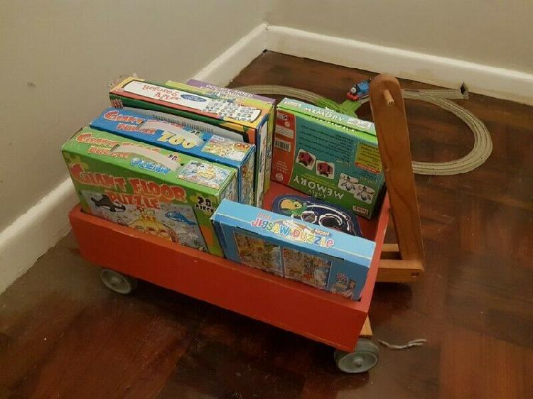 Puzzles and mini cart