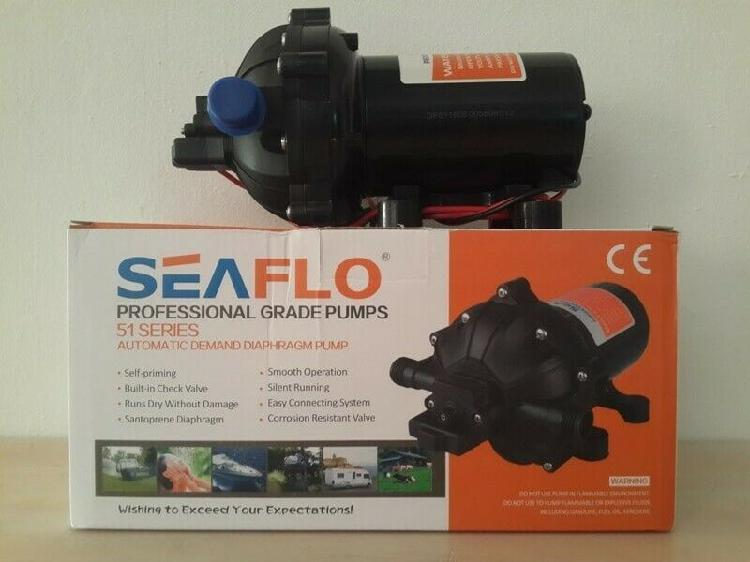 SEAFLO HIGH PRESSURE WATER PUMP 15LPM/4GPM 12V