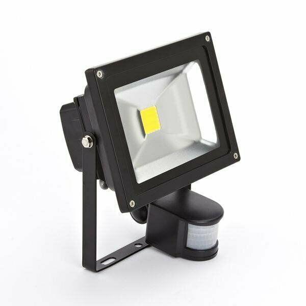 10w 20w 30w 50w led motion sensor floodlight