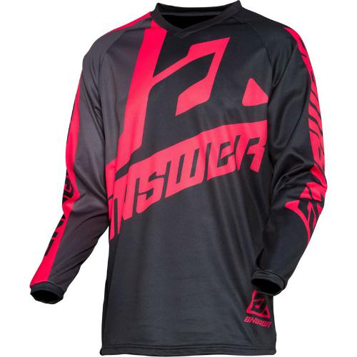 Answer syncron voyd jersey - black-charcoal-pink m
