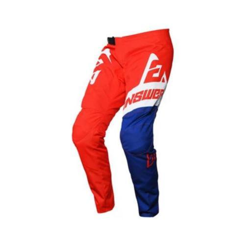 Answer syncron voyd pants - red-reflex-white 34