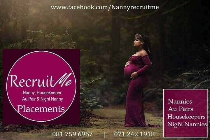 Sleep out nanny housekeeper for small baby in ceres