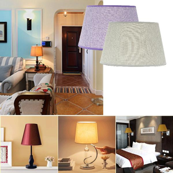 230*300*185mm ceiling lamp shade table lampshape home cotton