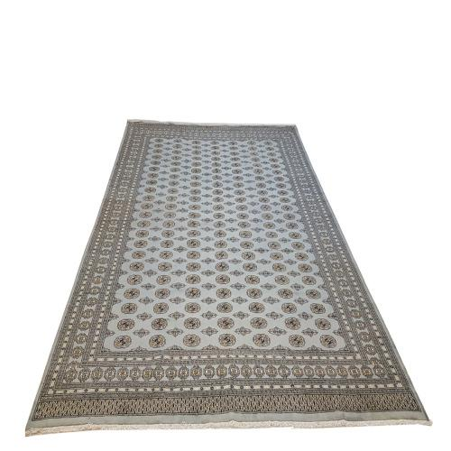 Beautiful large size bukhara persian carpet 408 x 303 cm