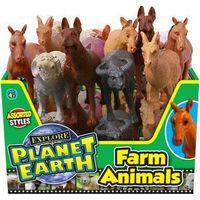 Ja-ru explore planet earth farm animals (supplied may vary)