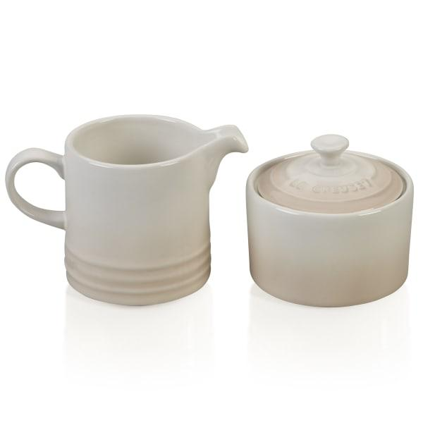 Le creuset milk jug & sugar bowl set