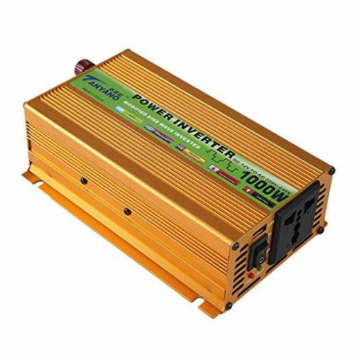 Power inverter 1000w continuous /12v dc to 220v ac / ideal
