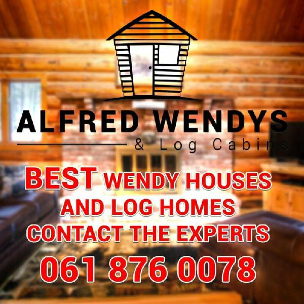 ALFRED WENDYS AND LOG HOMES