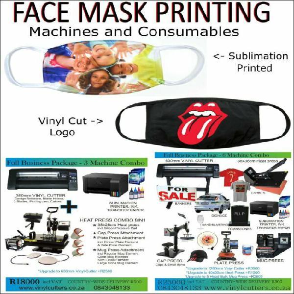 Face mask branding