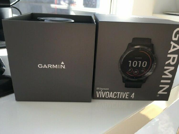 Garmin venu smartwatch and garmin vivoactive 4 gps