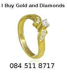 I buy all gold and diamonds