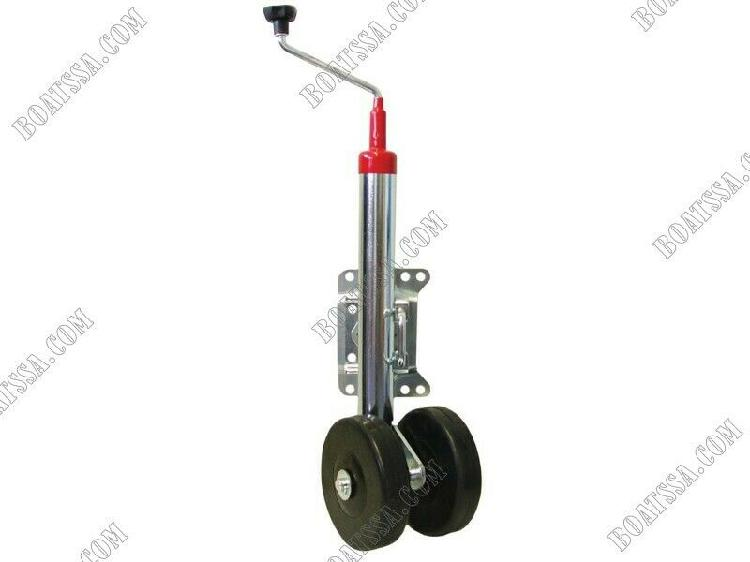 Jockey wheel hd swivel double wheel
