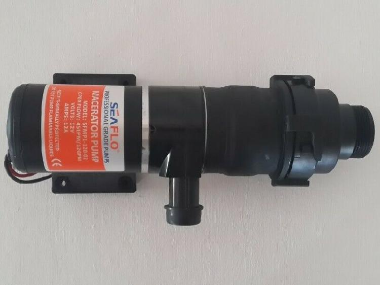 Self priming macerator pump