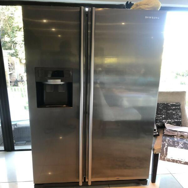 Samsung side by side fridge freezer water dispenser