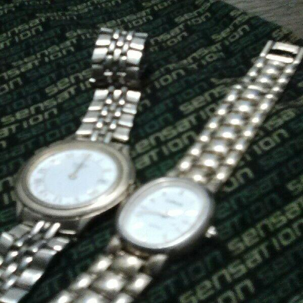 Two big brand name second watches