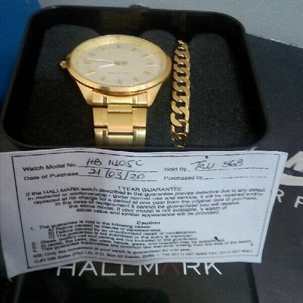 Watch and bracelet for r500 still brand new !!?