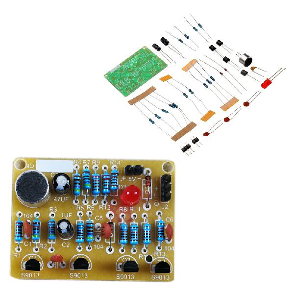 10pcs diy electronic clapping voice control switch module