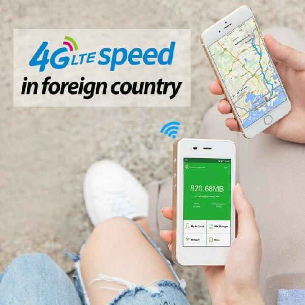 Glocalme g3 4g lte mobile wi-fi hotspot, portable wi-fi for