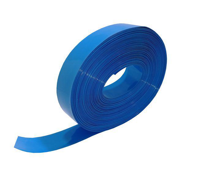 Pvc blue heat shrink 30mm 0.12mm thick pvc-30bl / 190502 *