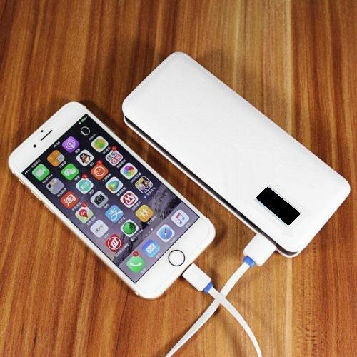 Portable 10 000mah power bank, backup battery pack. with