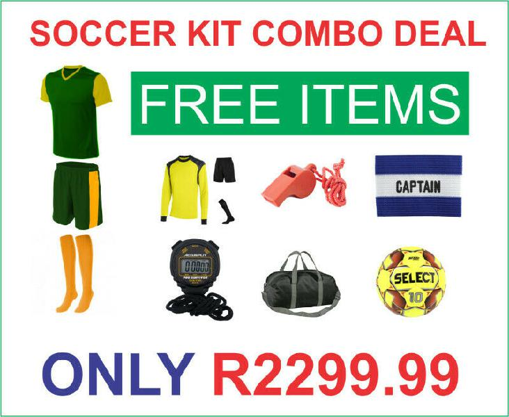 Soccer combo now available
