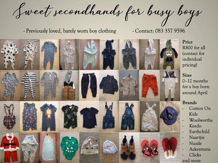 Sweet secondhands for busy boys