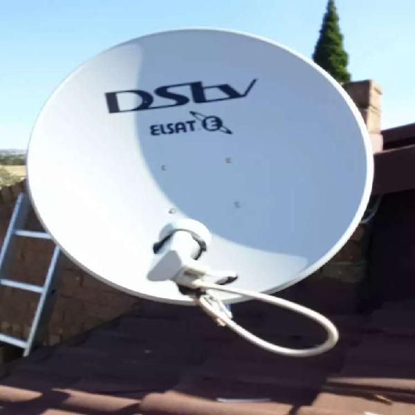 Dstv installation signal repairs extra view setup