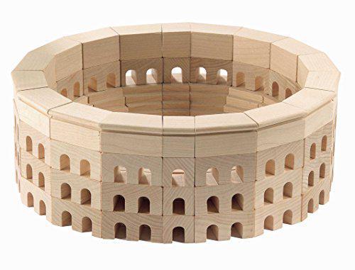 HABA Roman Coliseum Wooden Architectural Building Blocks -