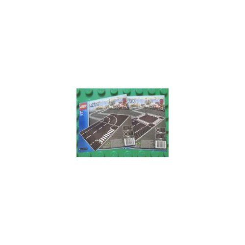 Lego city 7280 and 7281 - road base plates (4 plates in