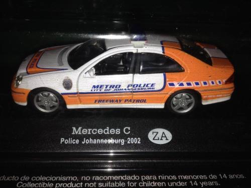 Mercedes benz c class - johannesburg metro police (jmpd)