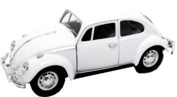 Promotion 67 vw beetle die cast sc 1/24 road signature - new