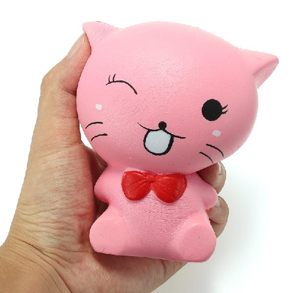 Squishy cat kitten 12cm soft slow rising animals cartoon