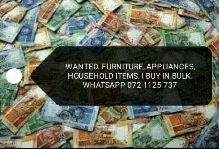 Wanted ! all your unwanted items