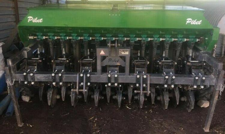 2015 piket 14 row no till fine seed planter with double