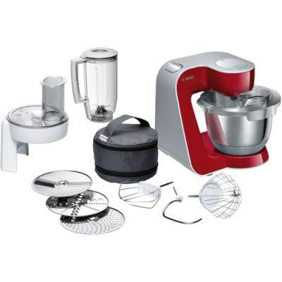Bosch styline mum5 kitchen machine (deep red)