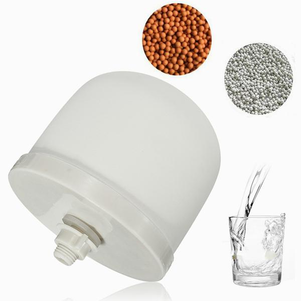 Ceramic dome water filter system replacement cartridge