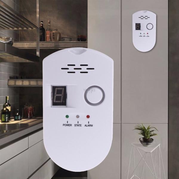 Digital combustible gas leak alarm sensor detector propane