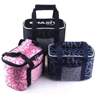 Oxford insulated lunch bag women cooler lunch box bags
