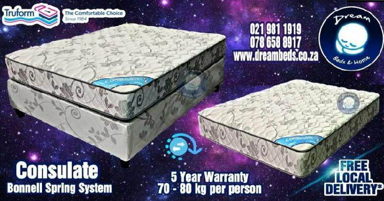 Beds and mattresses for sale - truform beds - reliable since