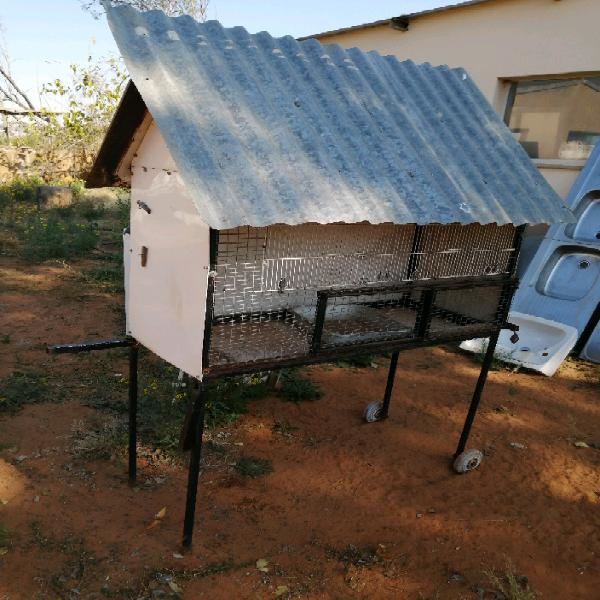 Big outside bird cage available for sale