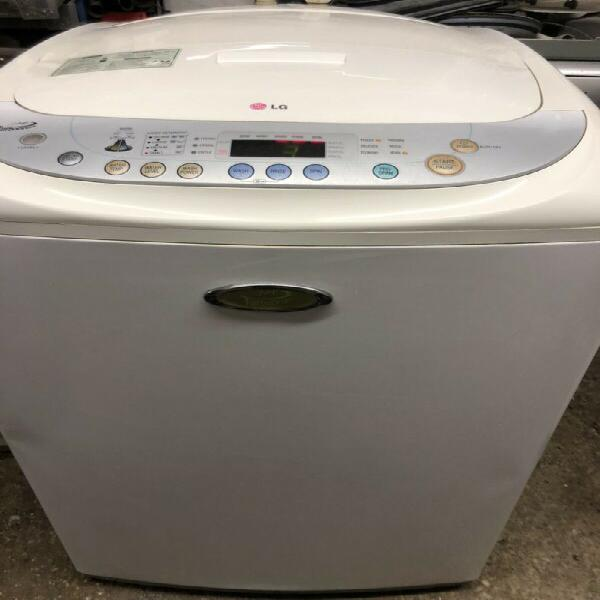Washing machine - lg 13kg top loader in white (big) -