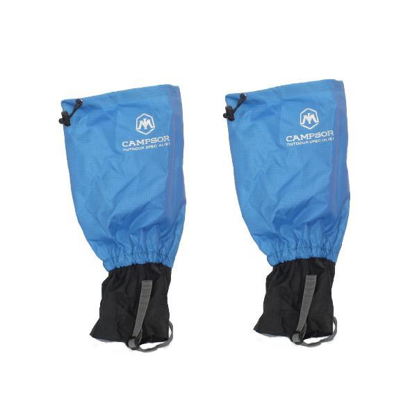 Campsor outdoor specialist waterproof hiking gaiter - blue -