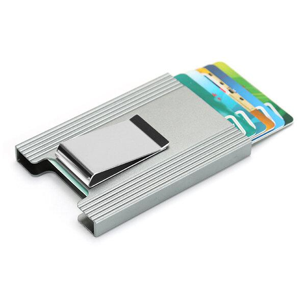 Ipree aluminum alloy card holder credit card case id card