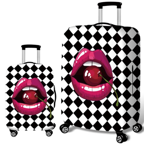 Travel luggage cover anti-scratch elastic dust-proof