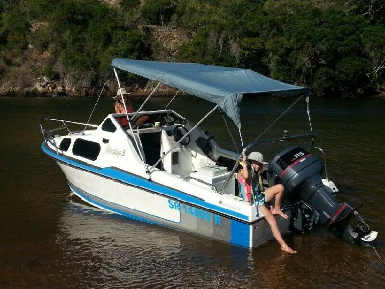 Flamingo cabin boat 17ft with 115 yamaha