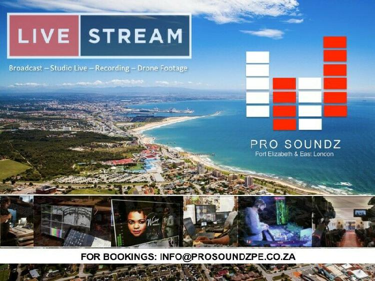 Sound, stage and lighting services