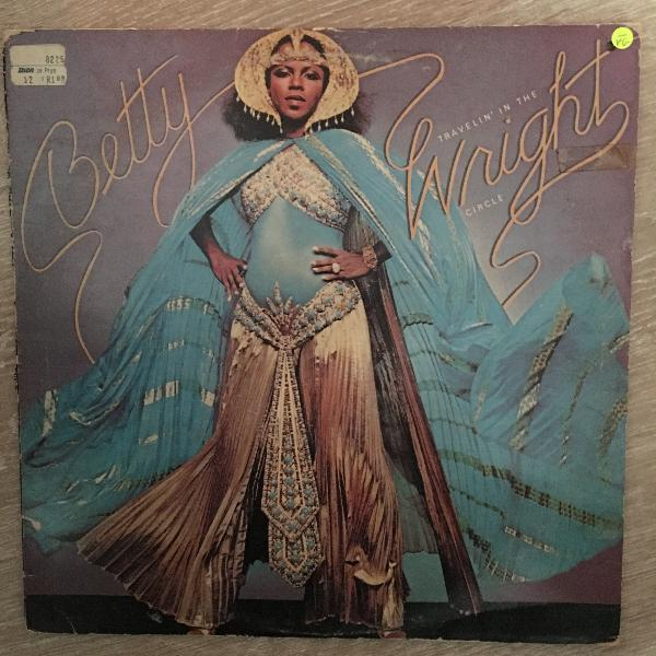 Betty wright betty travelin in the wright circle - vinyl lp