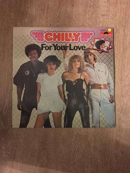 Chilly - for your love - vinyl lp record - opened -